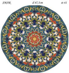 Эскиз для росписи, Круг диаметр-47,5см, SMAR-st-41