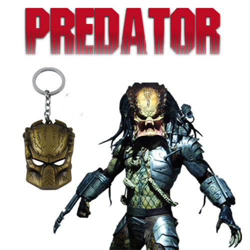 Брелок Predator Mask Metal 01