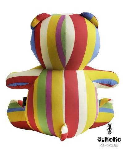 Подушка-игрушка антистресс Gekoko «Мишка Мультифрукт» 5