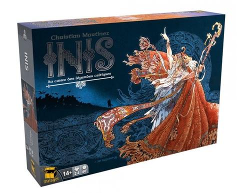 Настольная игра Иниш (новое издание)