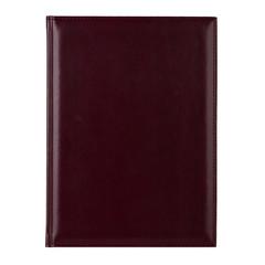 Ежедневник недатированный Attache Каньон искусственная кожа A4 176 листов бордовый (202x272 мм)