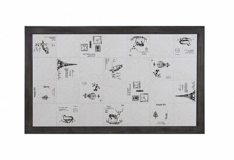 Стул LT C17443 DARK GREY #G521/ FABRIC FB62 PARIS М-City (обеденный, кухонный, для гостиной), Материал каркаса: Массив гевеи, Цвет каркаса: Дуб серо-коричневый винтажный, Материал сиденья: Ткань, Цвет сиденья: Белый, Цвет: Серый, Материал каркаса: Дерево
