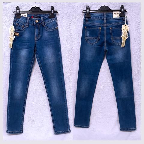 Джинсы подростковые девочке (11-12) 201223-8803