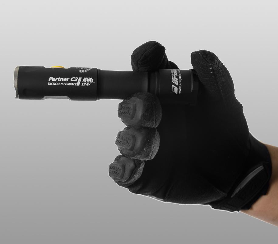 Тактический фонарь Armytek Partner C2 Pro (тёплый свет) - фото 3