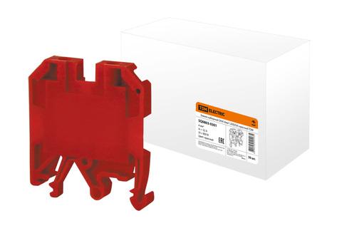 Зажим наборный ЗНИ-4мм2 (JXB35А) красный TDM