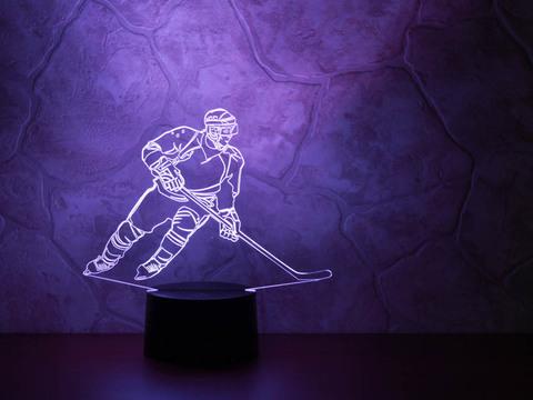 Лампа Хоккеист - Нападающий