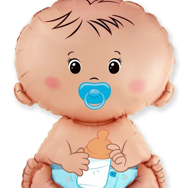 Фольгированный шар «Малыш мальчик», 66 см