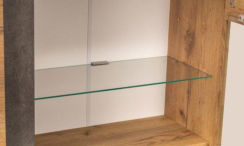Шкаф навесной Арчи 10.60 Моби Дуб Золотой CRAFT, Камень Темный U3705