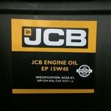 Оригинальное масло моторное JCB EP 15W40 20L/40011845E