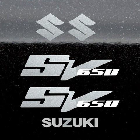 Набор виниловых наклеек на мотоцикл SUZUKI SV 650 2005