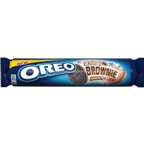 Печенье Oreo Choko Brownie Орео шоколадный брауни 154 гр