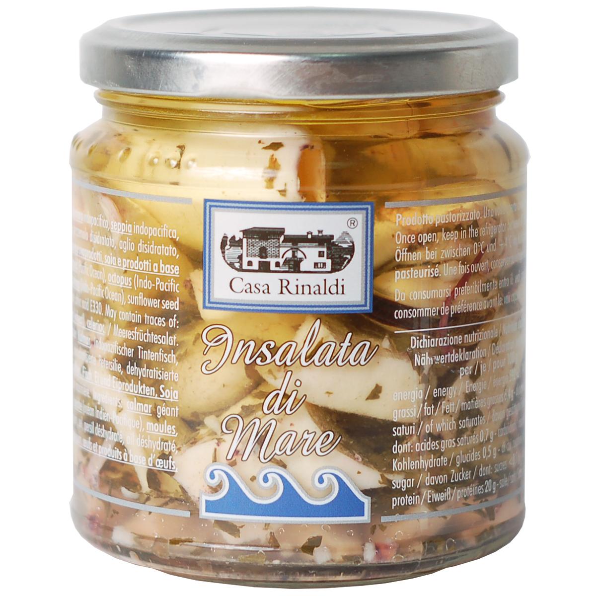 Салат из морепродуктов Casa Rinaldi 280г
