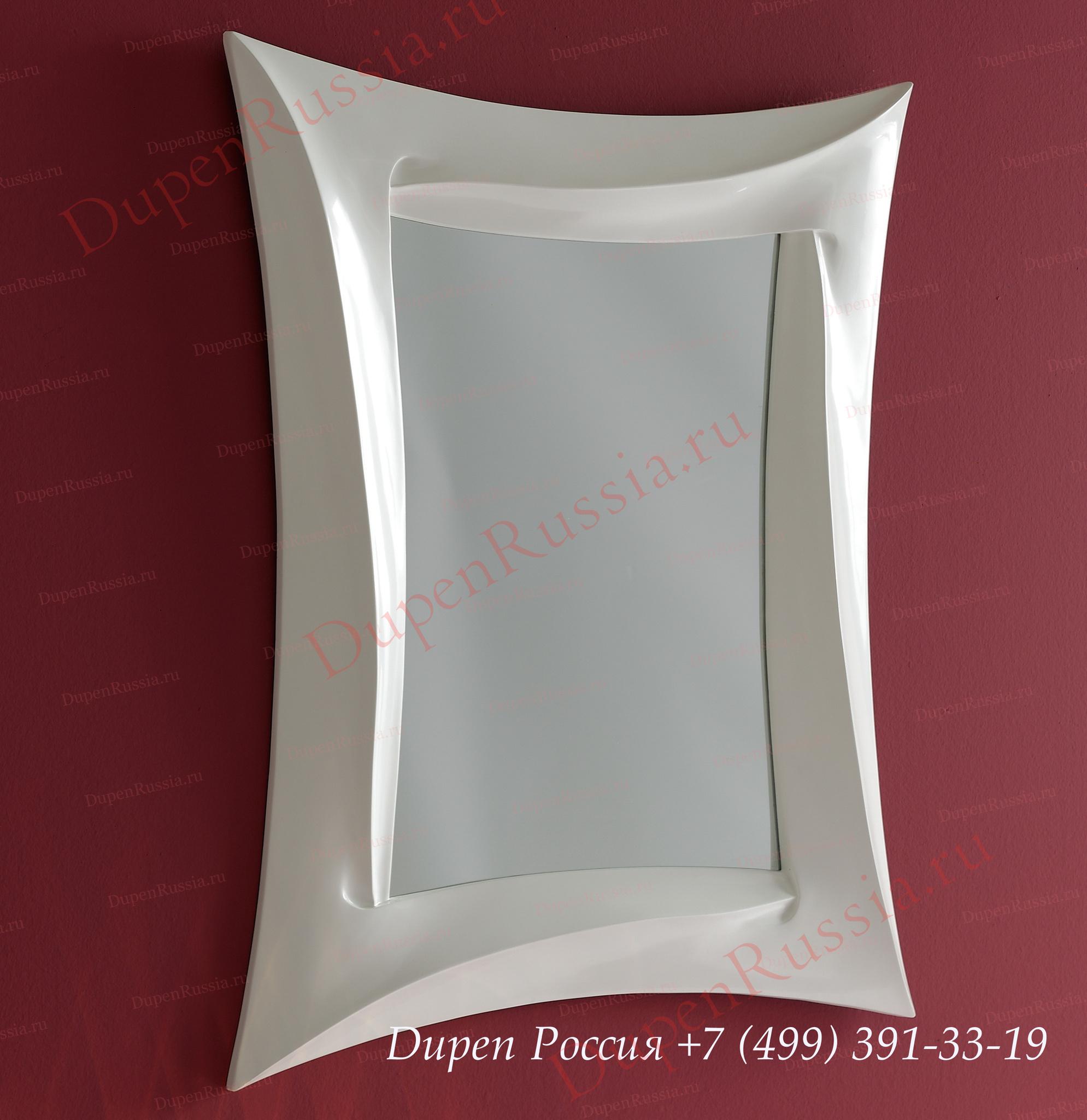 Зеркало DUPEN (Дюпен) PU166B белый