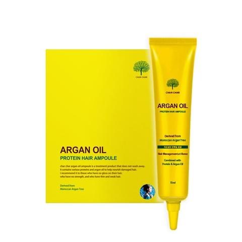 Char Char Argan Oil Protein Hair Ampoule сыворотка для восстановления волос с аргановым маслом