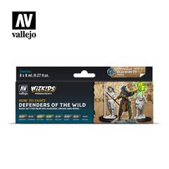 Wizkids premium set by vallejo: defenders of the wild