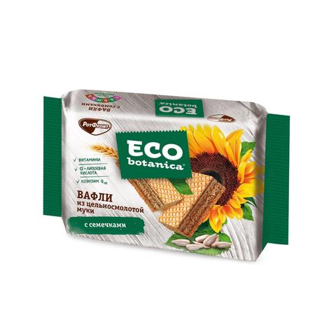 Вафли Eco Botanica из цельносмолотой муки с семечками, 145г