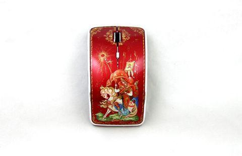 Мышь компьютерная с ручной росписью 3814