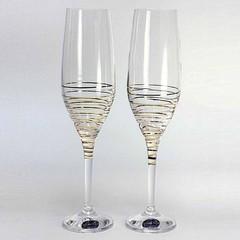 Набор бокалов для шампанского «Аморосо», 200 мл, фото 2