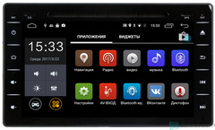 Штатная магнитола 4G/LTE с DVD для Toyota Corolla 17+ Android 7.1.1 Parafar PF691D
