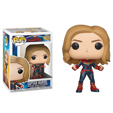 Captain Marvel Funko Pop! Vinyl Figure || Капитан Марвел