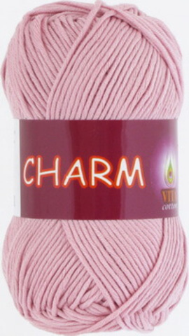 Пряжа Charm (Vita cotton) 4165 Чайная роза