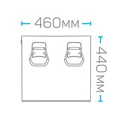 Ящик инструментальный HONITON IK-205