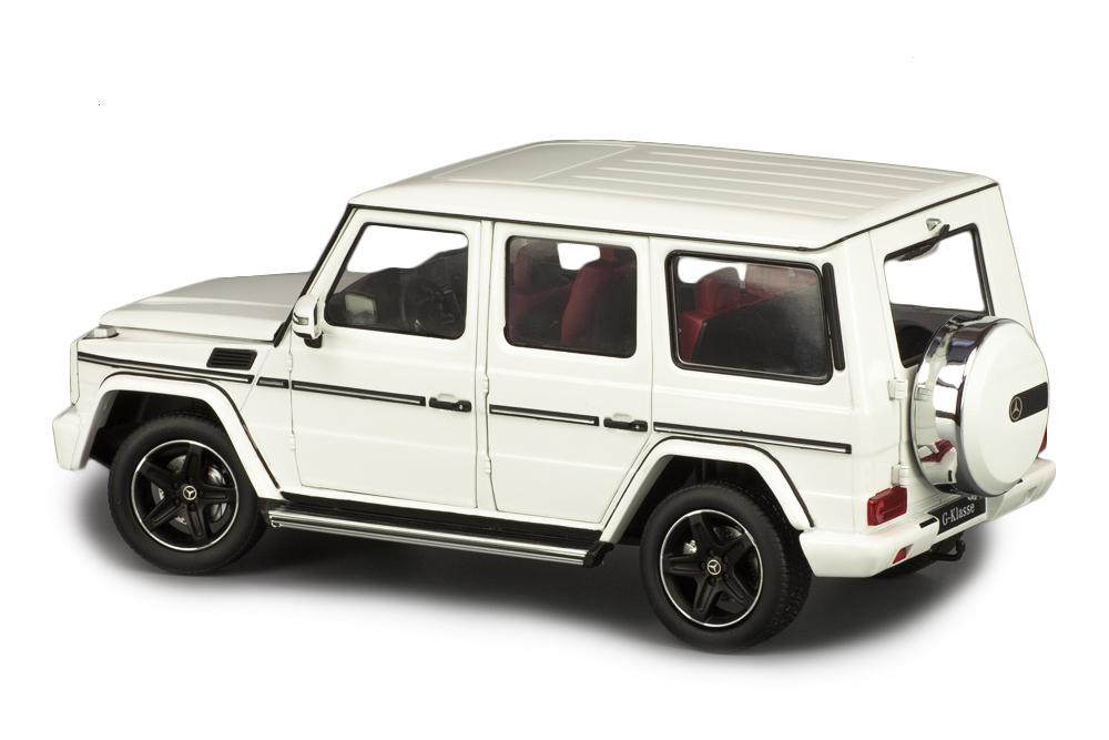 Коллекционная модель MERCEDES-BENZ W463 G-CLASS 2015 WHITE