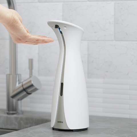Диспенсер для мыла сенсорный Otto большой белый