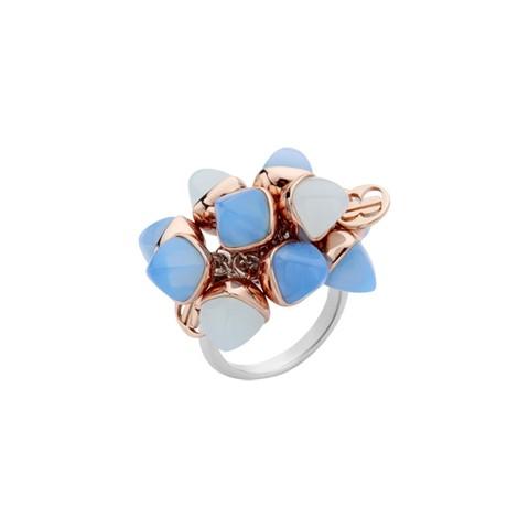 Кольцо Caleida Blue XAN163C BL/S