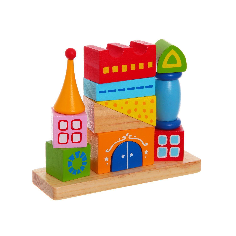 Деревянная логическая пирамида, Сказочный Замок, Bondibon