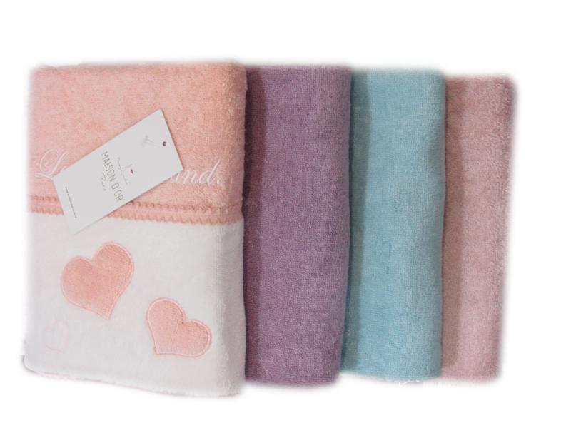 Полотенца МОНИКА СЕРДЕЧКИ - MONIQUE KALPLI  полотенце махровое Maison Dor Турция МОНИКА.png