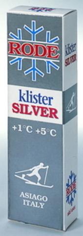Картинка клистер Rode K50 серебряный (+1/+5) 60гр  - 1