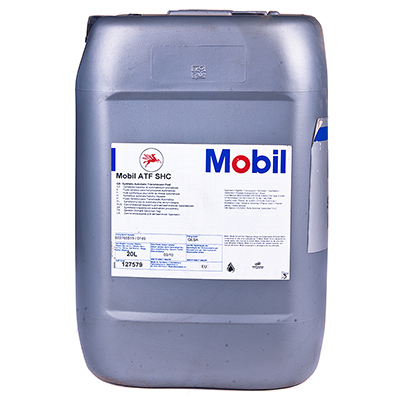 Купить на сайте Ht-oil.ru официальный дилер MOBIL ATF SHC трансмиссионное масло для АКПП синтетическое артикул 127579 (20 Литров)