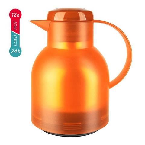 Термос-чайник Emsa Samba (1 литр), оранжевый