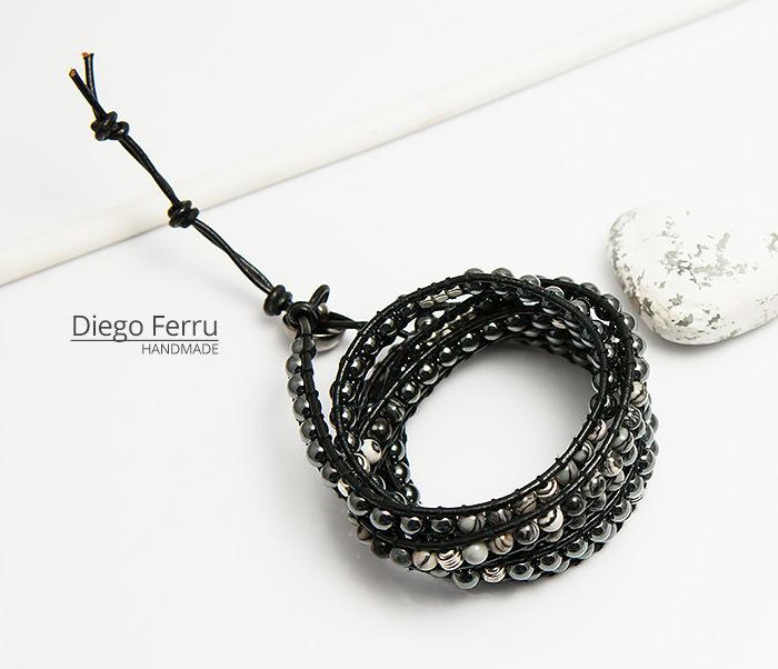 BS754 Крутой браслет «Diego Ferru» в стиле Chan Luu, ручная работы фото 04