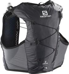 Рюкзак жилет для бега Salomon Active Skin 4 Set Ebony/Black