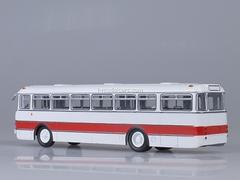 Ikarus-556 white-red Soviet Bus (SOVA) 1:43