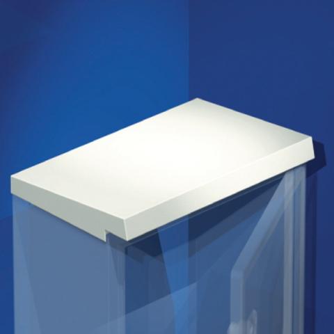 Козырёк дождезащитный, для шкафов CE, 600 x 250 мм
