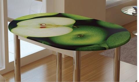 Стол обеденный с принтом бтс-