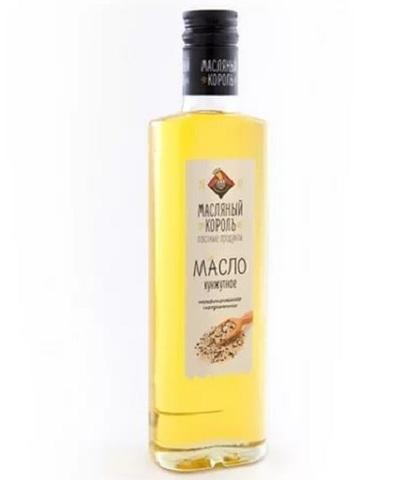 Масло растительное кунжутное, Масляный король, 350 мл