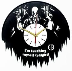 Дэдпул Часы из Пластинки — Deadpool Im touching my self tonight