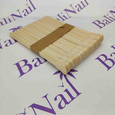 Шпатели деревянные фигурные, 100 шт