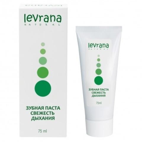 Зубная паста Свежесть дыхания, Levrana