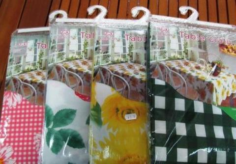 Скатерть для стола клеенчатая140х140 4-7-8