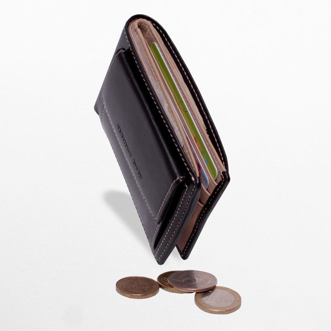 671 - Портмоне компактное с монетником снаружи