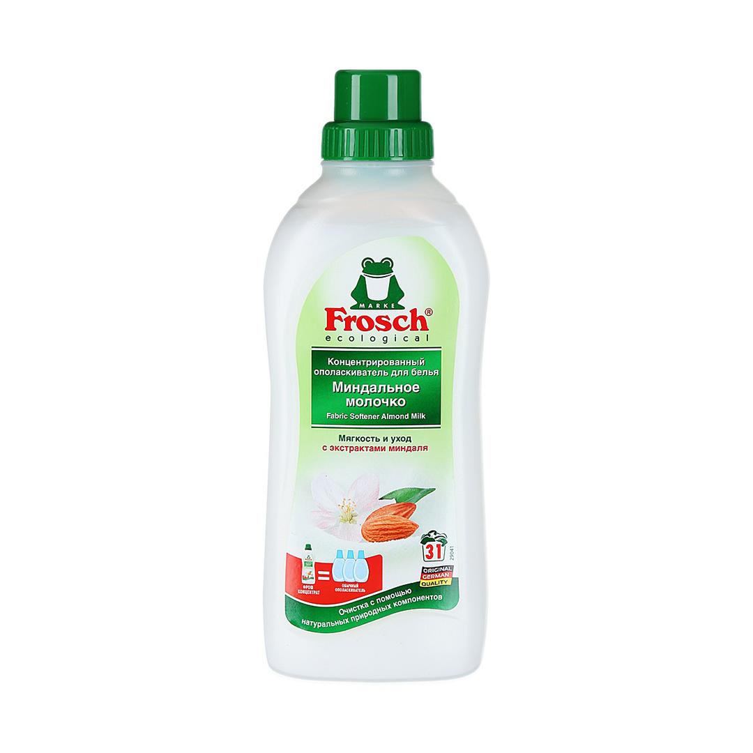 Frosch Концентрированный ополаскиватель для белья «Миндальное молочко» 750 мл.