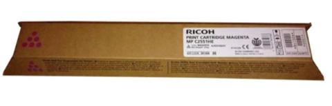 Оригинальный картридж Ricoh Print Cartridge Type MPC2551HE 841506/842063 пурпурный
