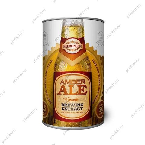 """Солодовый экстракт Beervingem """"Amber ale"""", 1,5 кг"""