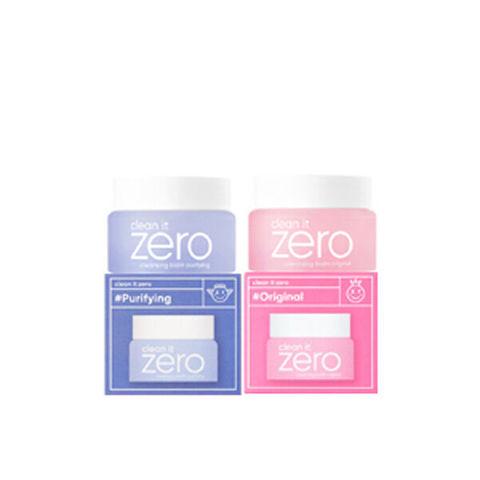 Banila Co Clean it Zero Special Duo дуэт миниатюр очищающих бальзамов для лица