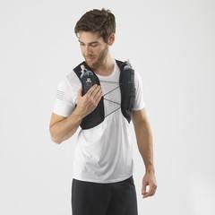 Рюкзак жилет для бега Salomon Active Skin 4 Set Ebony/Black - 2